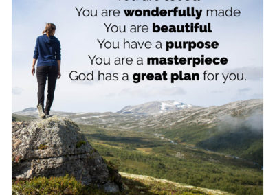 You are loved and wonderfully made